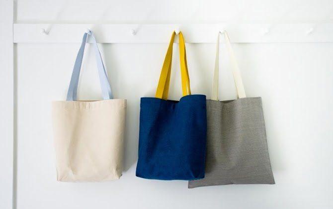 Hướng dẫn cách may túi tote vải bố đeo chéo đơn giản tại nhà