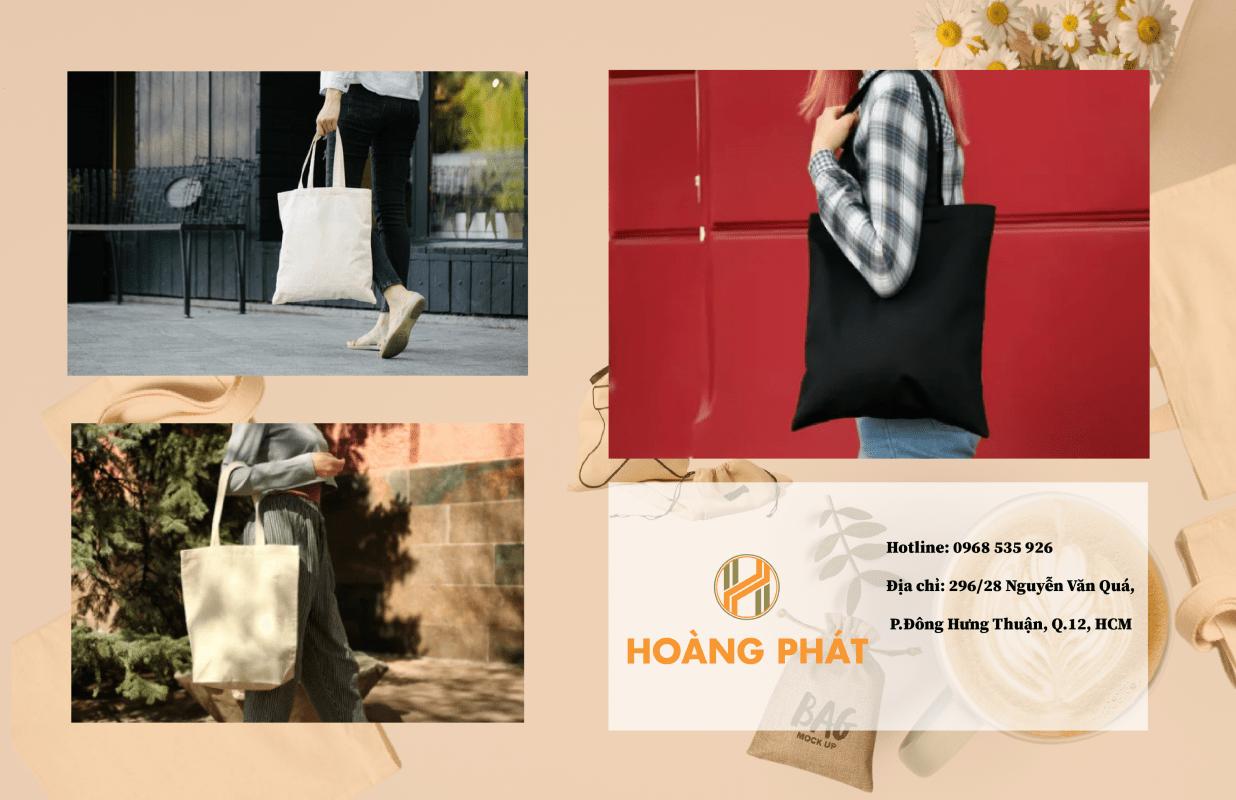 Tiêu chí lựa chọn địa điểm cung cấp túi vải bố trơn tại TP.HCM