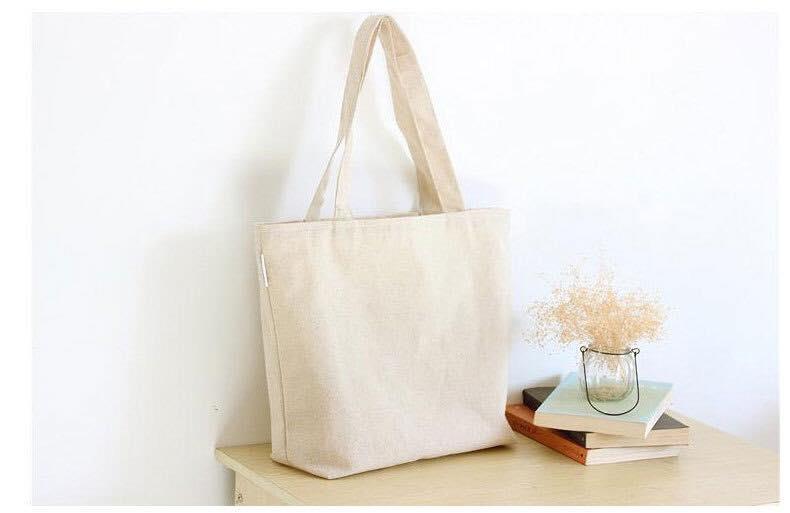 Sử dụng túi vải bố trơn trong cuộc sống hằng ngày