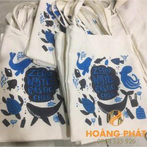 Túi vải bố in theo yêu cầu