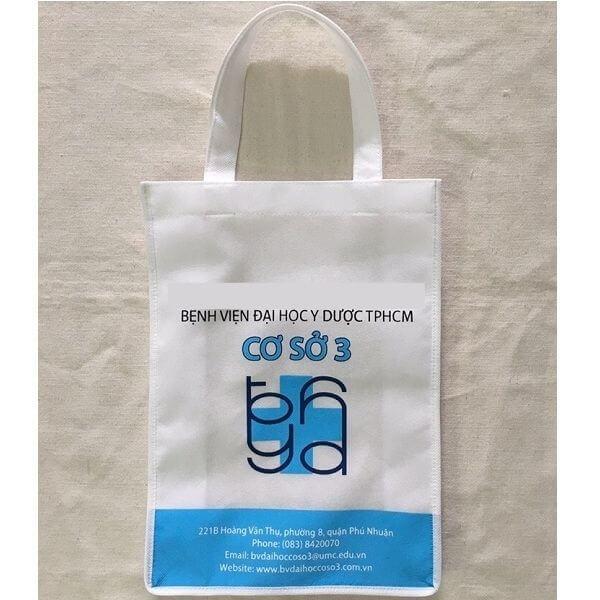Túi vải bố canvas cho bệnh viện có kiểu dáng đa dạng, mẫu mã đẹp