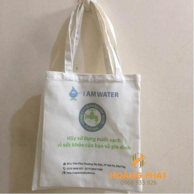 Túi vải bố cấp nước