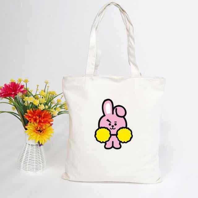 Tổng hợp bộ sưu tập túi vải cho Fan BTS