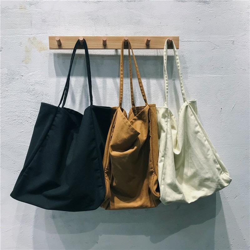 Túi vải canvas đựng sản phẩm nhiều kích thước trên thị trường