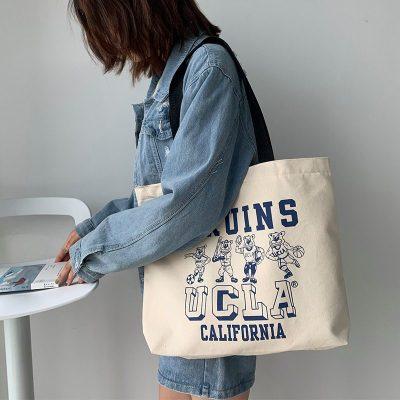 Đặt may túi vải bố canvas theo yêu cầu tại xưởng may Hoàng Phát