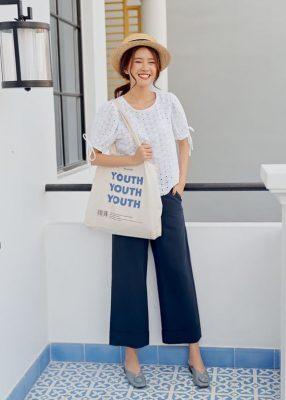Lợi ích của việc sử dụng túi vải canvas trắng trơn