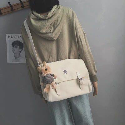 Túi vải canvas dạng đeo chéo